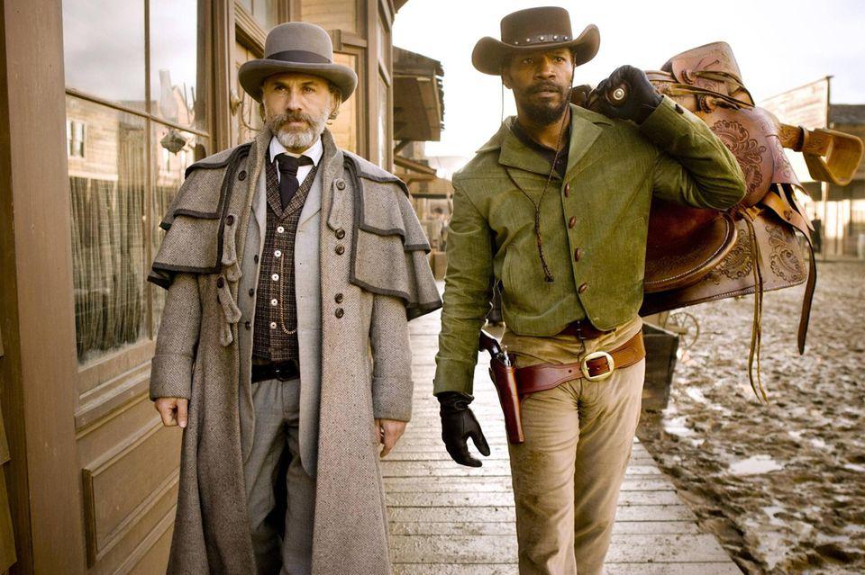 Dr. King Schultz (Christoph Waltz) und Django (Jamie Foxx) sind ein unerwartet gutes Team