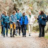 RTK: König Carl Gustaf besucht das Pfadfinderlager