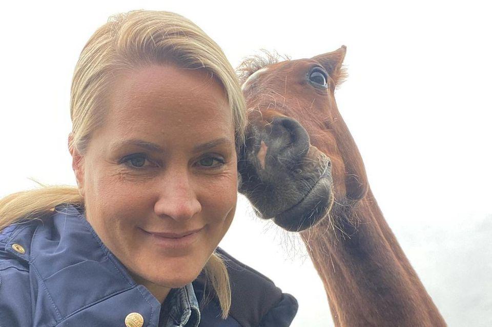 Stars mit Pferd: Judith Rakers