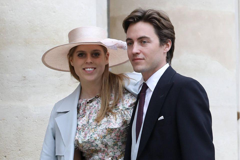Bei der Hochzeit von Prinz Jean-Christophe Napoleon