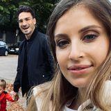 Cathy Hummels + Mats Hummels: Cathy postet Selfie mit Mats und Ludwig