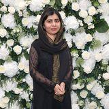 Malala Yousafzai auf der London Fashion Week