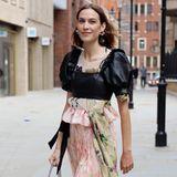 Alexa Chung au der London Fashion Week