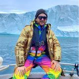 Outdoor: Riccardo Simonetti posiert in Grönland