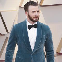 Chris Evans auf dem Red Carpet der Oscars.
