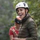 Windsor RTK: Herzogin Catherine in Kletterausrüstung