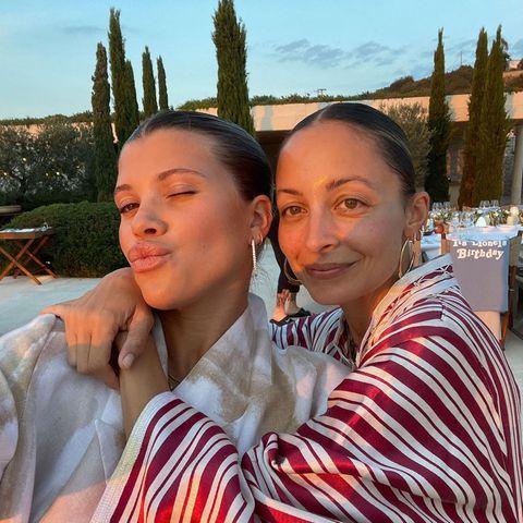 Gezwitscher 2021: Sofia Richie mit Nicole Richie
