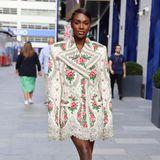 Dina Asher-Smith auf der London Fashion Week