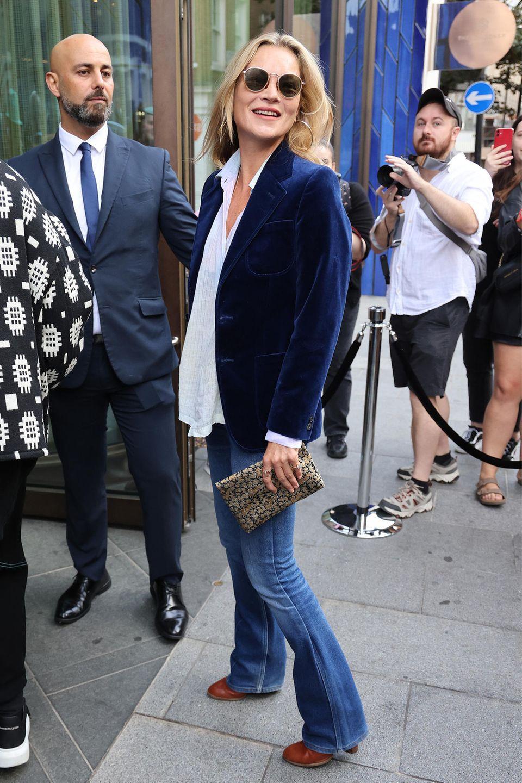 Kate Moss auf der London Fashion Week