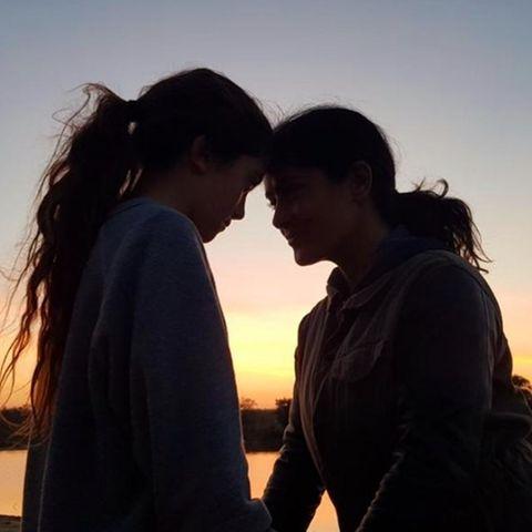 Familienbande: Salma Hayek mit Tochter Valentina