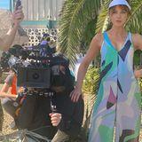 Stars am Set: Kate Beckinsale mit Kameramann