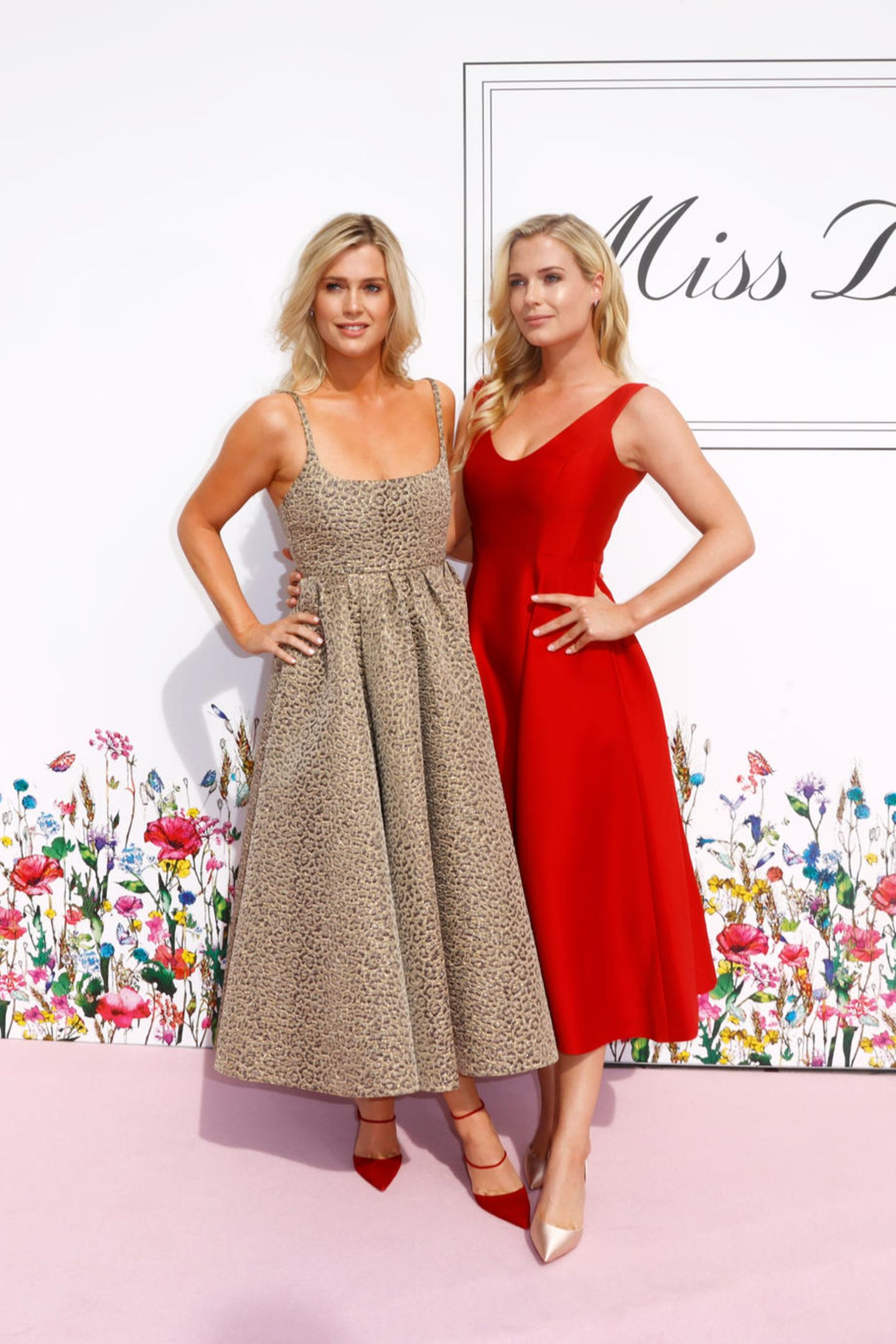 Lady Eliza Spencer und Lady Amelia Spencer auf dem Red Carpet.