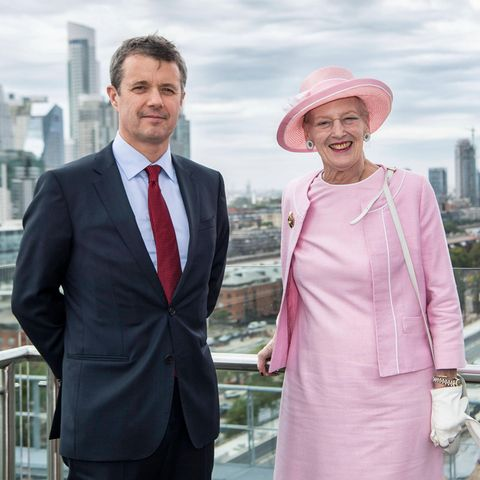 Prinz Frederik und Königin Margrethe