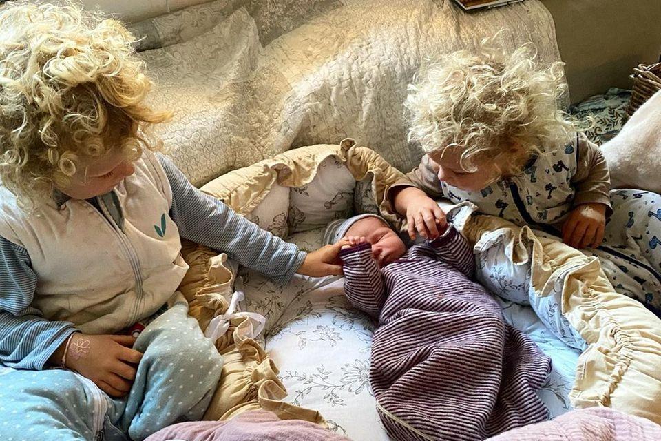 Sternchen: Peer Kusmagk + Janni Hönscheid haben Baby Nummer 3