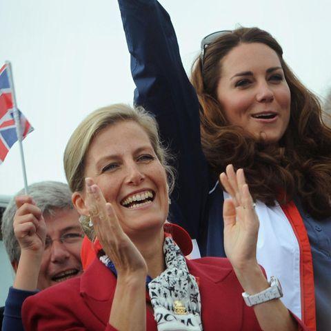 Gräfin Sophie undHerzogin Catherine