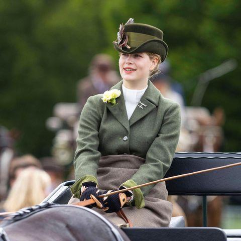 Lady Louise bei der Royal Windsor Horse Show im Juli 2021