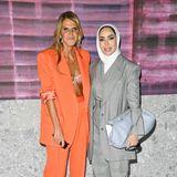 Anna Dello Russo und Fashion-Influencerin Fatema Alawadhi sind zu Gast bei Max Mara.