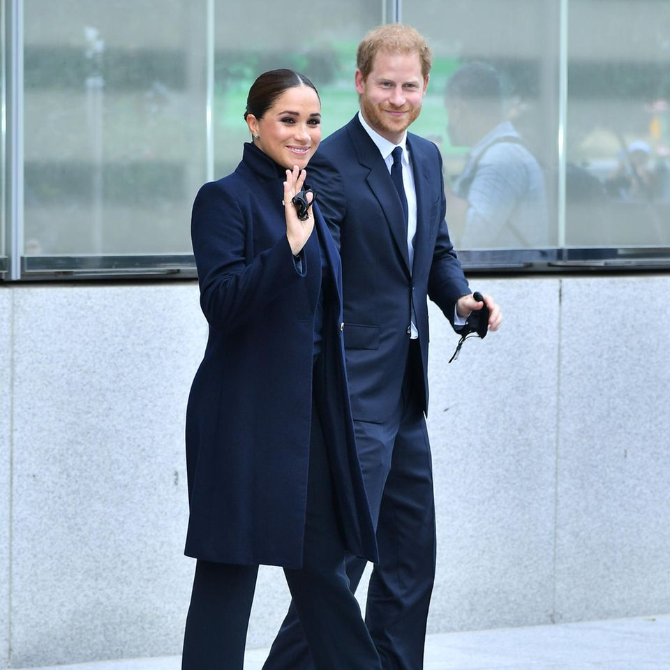 Herzogin Meghan und Prinz Harry in New York.