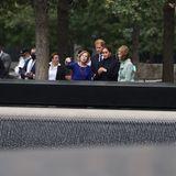 """Prinz Harry + Herzogin Meghan besuchen das """"9/11 Memorial Museum"""" in New York City"""