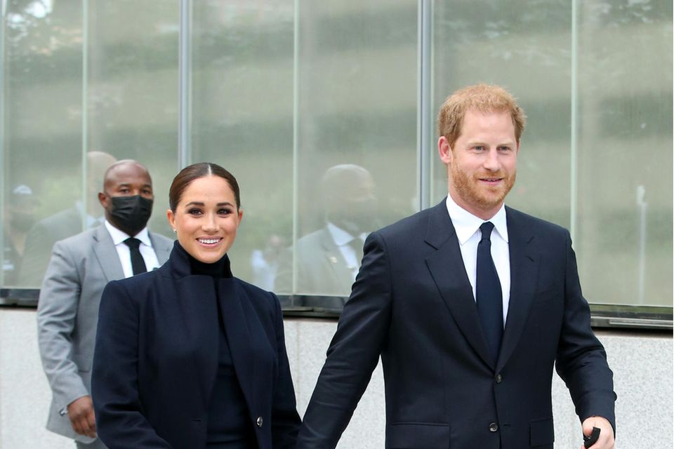 Prinz Harry und Herzogin Meghan in New York