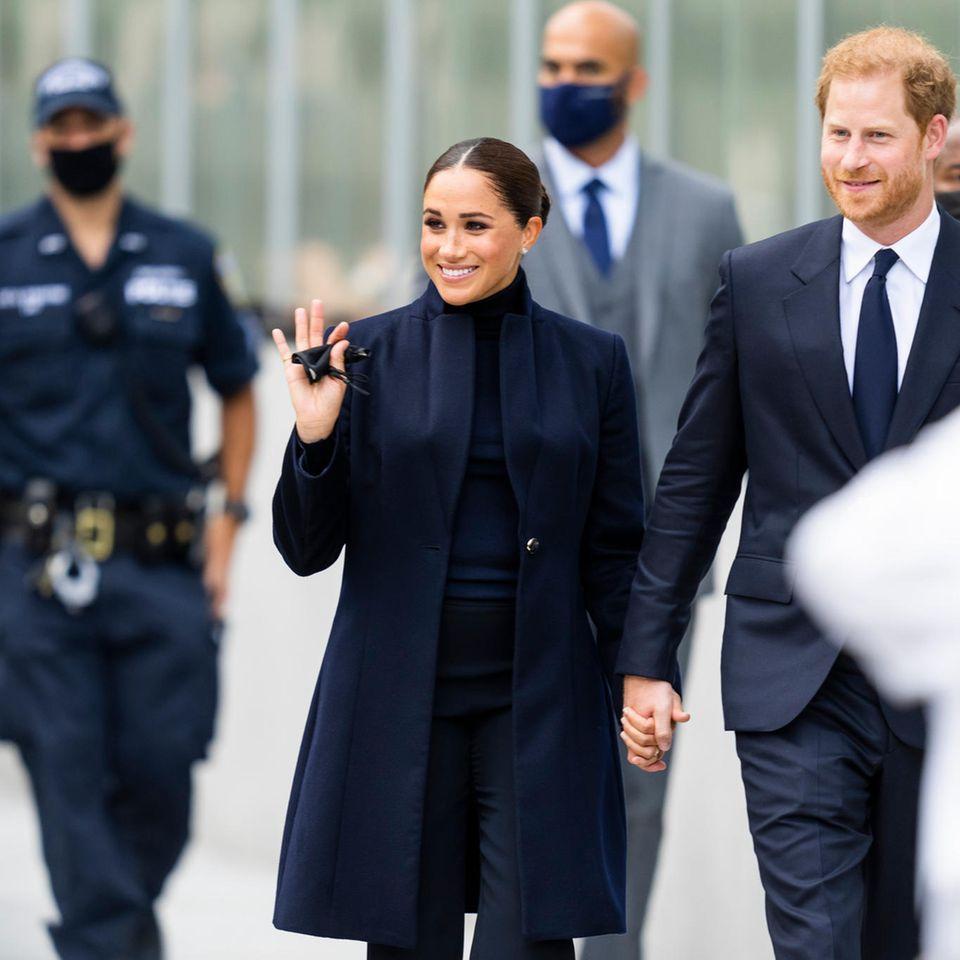 Herzogin Meghan und Prinz Harry bei ihrem Besuch in New York