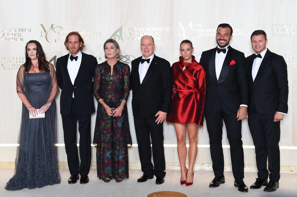Monacos Fürstenfamilie: Prinzessin Caroline, Prinz Albert