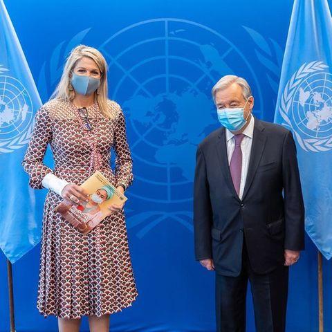 Königin Máxima zu Besuch bei den Vereinten Nationen in New York