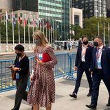 Köngin Máxima zu Besuch bei den Vereinten Nationen in New York