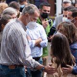 Königin Sofia und König Felipe besuchen die Kanareninsel La Palma