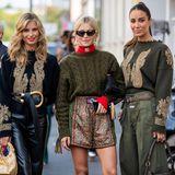 Xenia Adonts, Caroline Daur und Tamara Kalinic