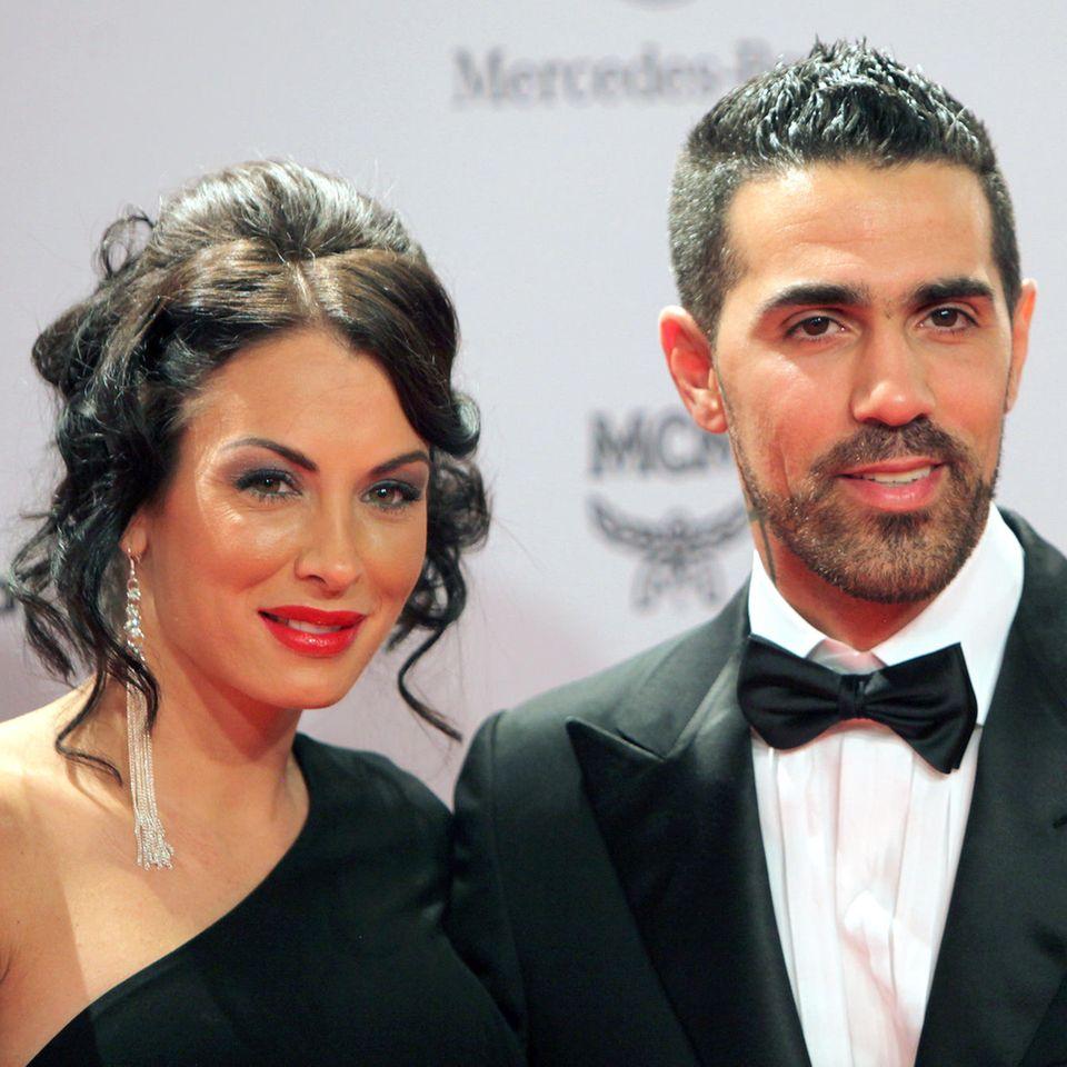 Anna-Maria Ferchichi mit Ehemann Bushido.