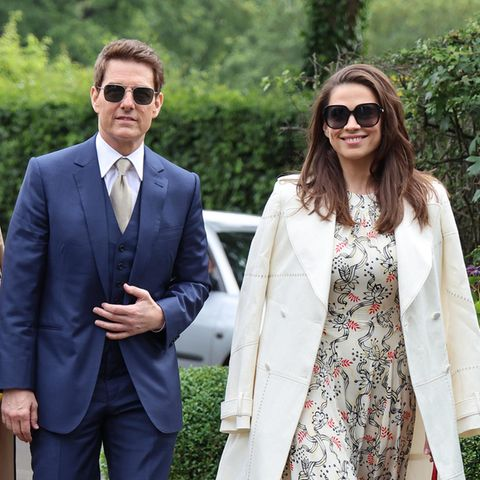 Tom Cruise und Hayley Atwell