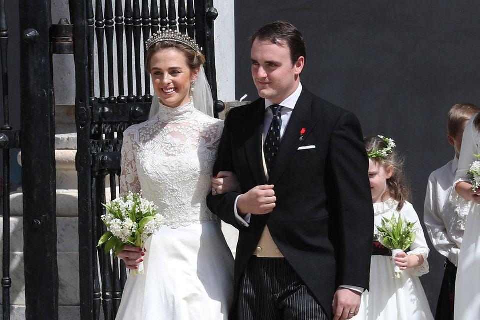 Lady Charlotte Lindesay-Bethune und Prinz Jaime von Bourbon-Sizilien