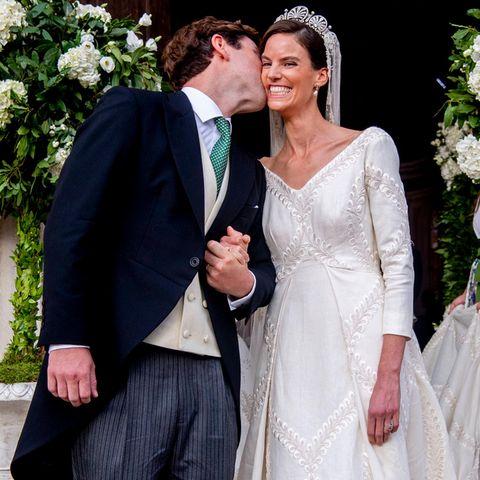 Ralph Worthington und Prinzessin Marie-Astrid von Liechtenstein haben Ja gesagt