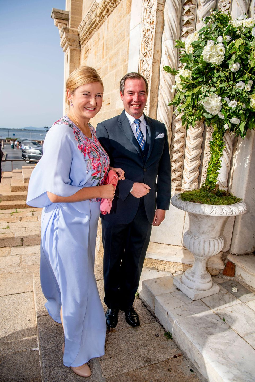 AuchErbgrossherzog Guillaume und Erbgrossherzogin Stéphanie waren in Italien dabei