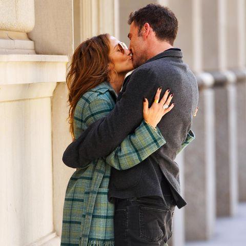 Küssen: Jennifer Lopez und Ben Affleck