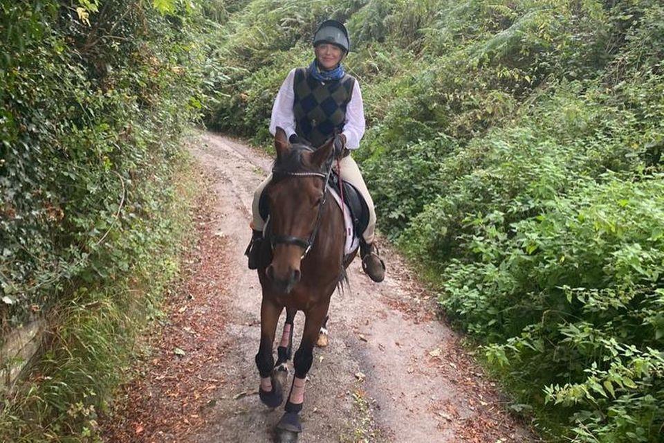 Stars mit Pferd: Courtney Love