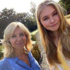 Niederländische Royals: Prinzessin Amalia postet seltenes Selfie
