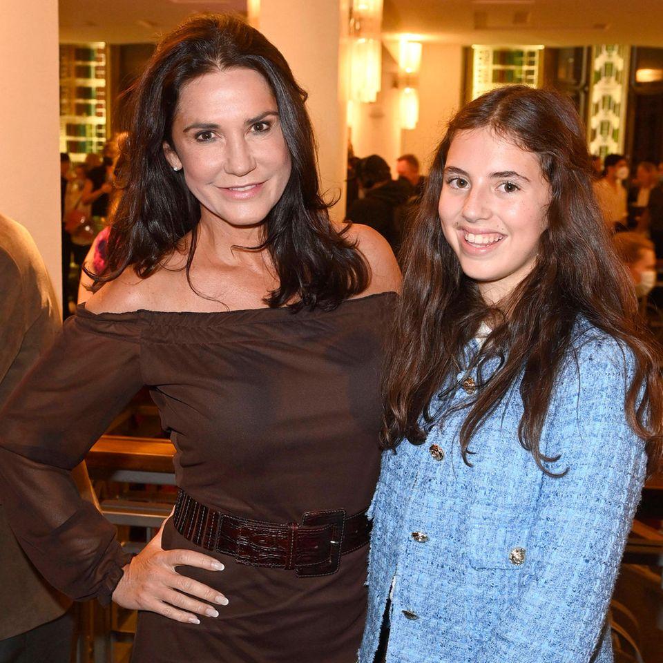 Mariella Ahrens und ihre Tochter Lucia von Faber-Castell