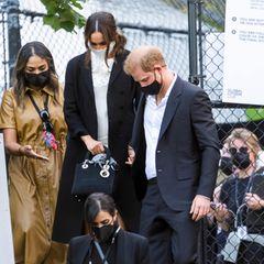 Herzogin Meghan und Prinz Harry verlassen ein Event