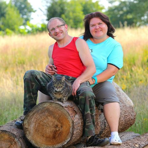 Schäfer Steffen und seine Nicole