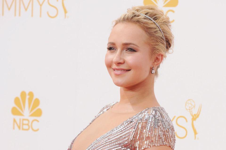 Schwangerschaftsgelüste: Hayden Panettiere auf den Emmy Awards