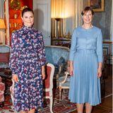 Royaler Terminkalender: Prinzessin Victoria trifft die Präsidentin von Estland in Stockholm
