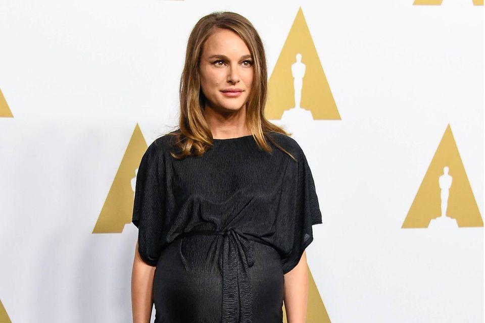 Schwangerschaftsgelüste: Natalie Portman schwanger bei den Oscars