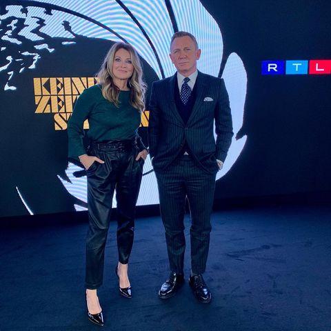 Gezwitscher: Frauke Ludowig + Daniel Craig