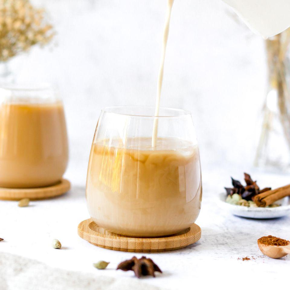 Einfaches Rezept: Apfel-Zimt-Latte