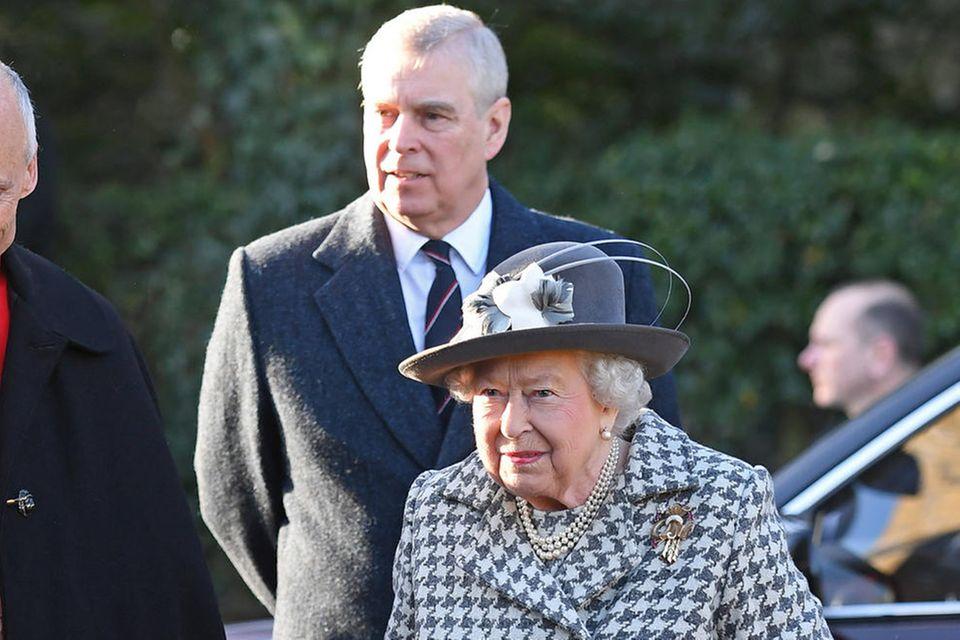 Prinz Andrew und Queen Elizabeth