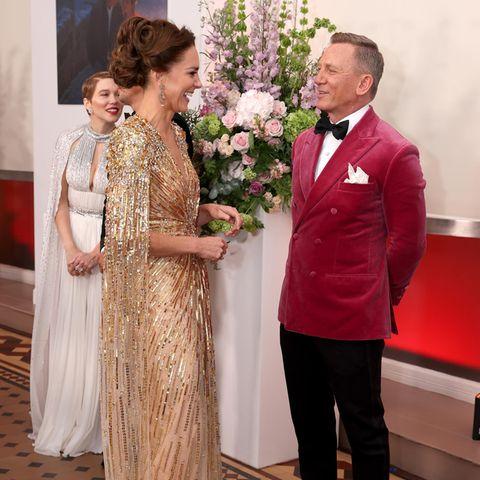Herzogin Catherine und Daniel Craig
