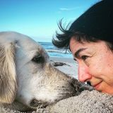 Hollywuff: Dunja Hayali mit Hund Wilma