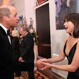 """James Bond"" Premiere: Prinz William + Ana de Armas"